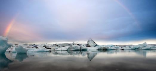 Arcobaleno tra i ghiacci Jokulsarlon