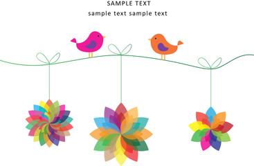 Birds and Windmills