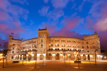 Bullfighting arena in Madrid, Las Ventas