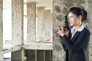 FBI woman agent.