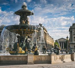 Fountains at Place de la Concord, Paris