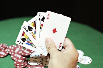 Poker good hand