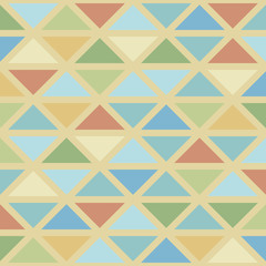Abstrack triangles background