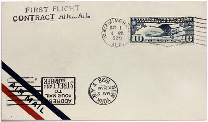 US Air Mail Cover