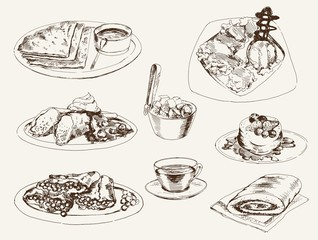 pancakes and dessert