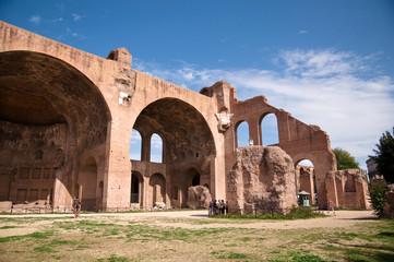 Fotomurales - Basilica di Massenzio at Roman forum