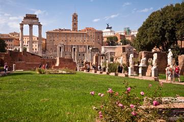 Fotomurales - Atrium vestae at Roman forum