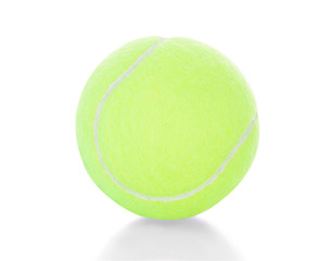 Close-up Of A Tennis Ball
