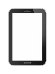 Phone tablet isolated on white background