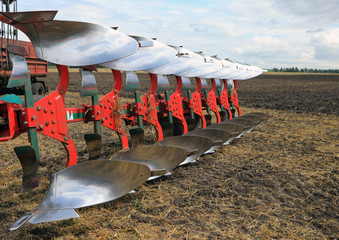 Agricultural equipment: plow
