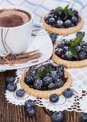 Small Blueberry Tart
