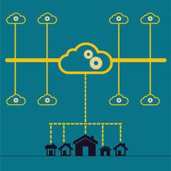 Cloud technology concept ideas