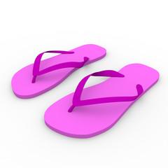 flip flop in pink, slipper, chanclas