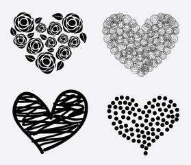 hearts icons