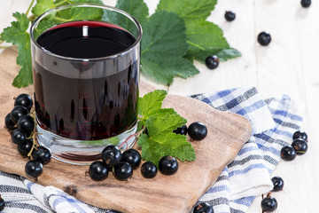 Fresh Black Currant juice