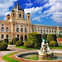In de dag Wenen Vienna Natural history museum . Austria