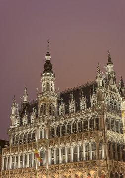 The Maison du Roi in Brussels, Belgium.
