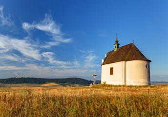 Slovakia - Holy cross baroque chapel