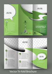 Tri-Fold Corporate Business Store Brochure Design
