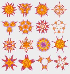 Originally created vector ornament collection