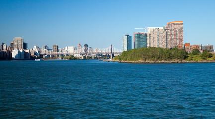 New York City Queensboro Bridge and Long Island City