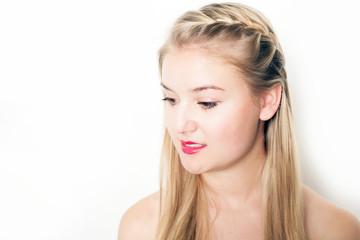 hübsches Mädchen im Portrait