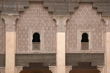Ben Youssef Madrasa in Marrakech, Morocco