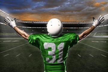 Fotobehang - Football Player