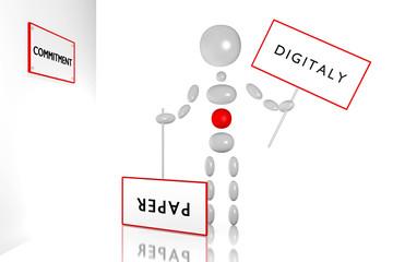 DIGITALY vs PAPER