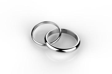 結婚指輪 交わり