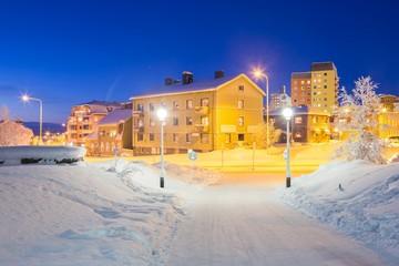 Kiruna Cityscape