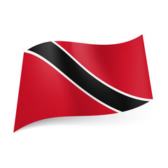 State flag of Trinidad and Tobago.