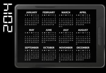 2014 electronic calendar