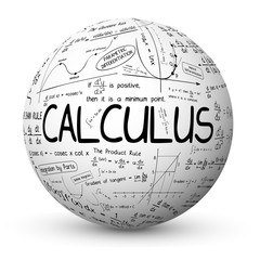 """CALCULUS"" Sphere (mathematics math maths function integration)"