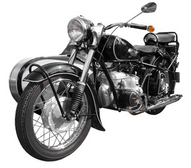 antikes Motorrad, Bike, Krad, Oldtimer