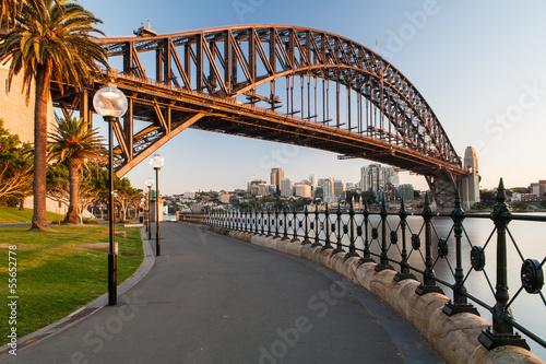 Sydney Harbour Bridge At Sunrise