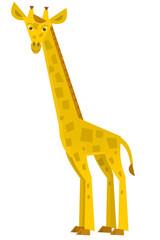 Cartoon giraffe - isolated - illustration for the children