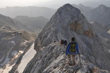 rando au sommet du Triglav - Slovénie