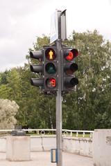 Timed traffic lights