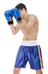 defensive position for a boxeur