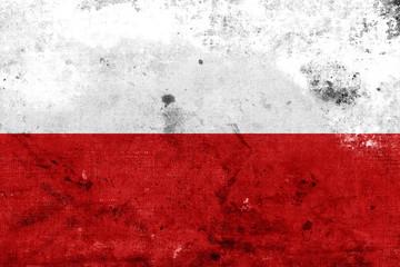 Fototapeta Grunge Poland flag kopia obraz