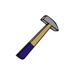 hammer vector illustration