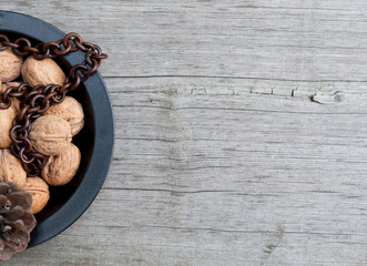 plate whith english walnut
