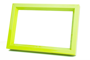 green picture frame