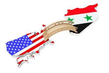 Bridge between USA and Syria