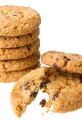 Fototapeten Kekse Chocolate chip cookies