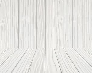 white wooden