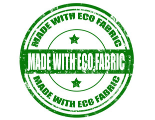 Made with Eco Fabric-stamp