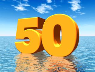 Die Zahl 50