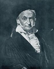 Carl Friedrich Gauss, painted by Christian Albrecht Jensen